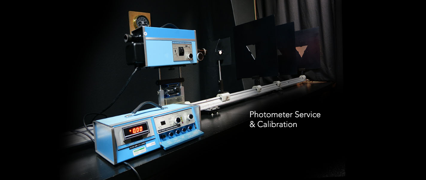 Photometer services and calibration