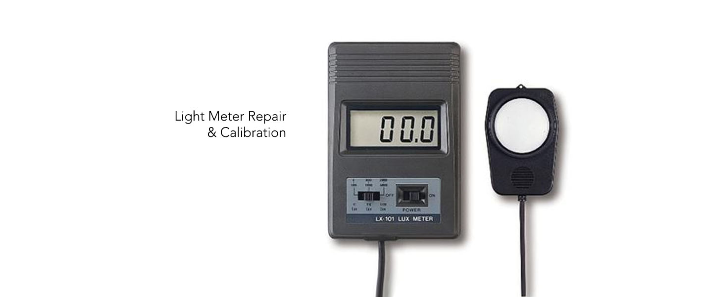 Light meter repair and calibration